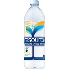 Resource Natural Bottled Spring Water