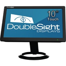 "DoubleSight Displays DS-10UT 10"" LCD Touchscreen Monitor - 16 ms"