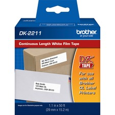 Brother DK-2211 White Continuous Film Roll