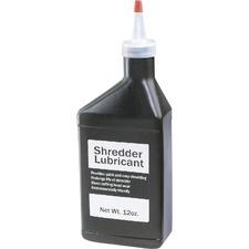 Shredder Lubricant 12 oz Bottle (6 Pk) - 12 oz Bottles - Clear - 6 Pk