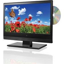 "GPX TDE1384B 13.3"" TV/DVD Combo - HDTV - 16:9 - 1366 x 768 - 720p"