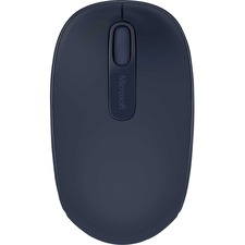Microsoft Wireless Mobile Mouse 1850 - Optical - Wireless - Radio Frequency - Wool Blue - 1 Pack - USB 2.0 - 1000 dpi - Scroll Wheel - 3 Button(s) - Symmetrical