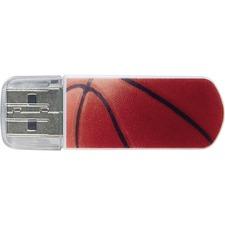 Verbatim 8GB Mini USB Flash Drive, Sports Edition - Basketball
