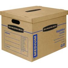 FEL 7717201 Fellowes SmoothMove Medium Classic Moving Boxes FEL7717201
