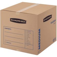 FEL 7713901 Fellowes SmoothMove Medium Basic Moving Boxes FEL7713901