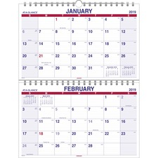 AAGPMLF928 - At-A-Glance Look Forward Monthly Wall Calendar