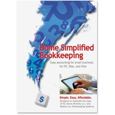 DOM 00114 Dome Publishing Simplified Bookkeeping Software DOM00114
