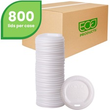 ECO EPECOLIDW Eco-Products Renewable EcoLid Hot Cup Lids ECOEPECOLIDW