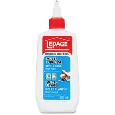 LePage Bondfast White Glue - 150 mL - 1 Each - White