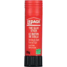 LePage Acid-free Washable Glue Stick - 20g