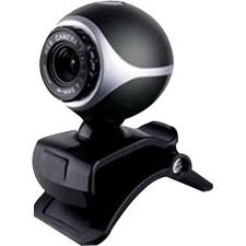 Inland Webcam - 0.3 Megapixel - 30 fps - Black - USB 2.0