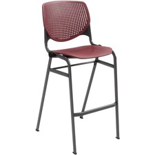 KFIBR2300P07 - KFI Barstool with Polypropylene Seat and Back