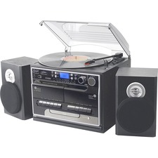 PyleHome PTTCSM70BT Record/CD/Cassette Turntable