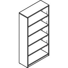 LAS72B367314X - Lacasse Open Bookcase