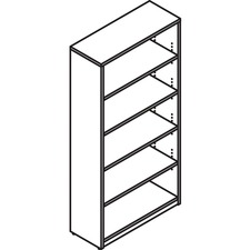 LAS72B366514H - Lacasse Open Bookcase