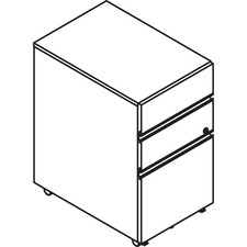 LAS4YMP1518UFH - Lacasse Mobile Pedestal
