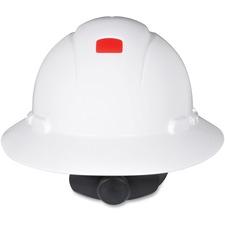 MMM H801RUV 3M H-801R-UV Full Brim Hard Hat MMMH801RUV