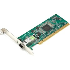 Black Box PCI Fiber Adapter, 1000BASE-SX, 64-/32-Bit, Multimode, LC