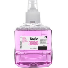 Gojo® Antibacterial Plum Scent Foam Handwash Triclosan Liquid - Plum Scent - 1.20 L - Pump Bottle Dispenser - Hand - Rich Lather - 1 Each