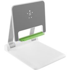 "Belkin Portable Tablet Stage - 9.80"" (248.92 mm) x 8.80"" (223.52 mm) x 9.10"" (231.14 mm) - White"