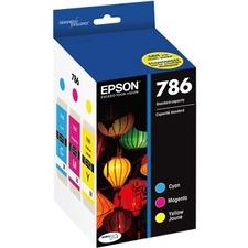 Epson Claria 786 Original Ink Cartridge - Cyan, Magenta, Yellow - Inkjet - 1 Each