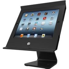 iPad Air/Air2 Secure Slide POS with Rotating 360? Kiosk Black