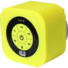 Adesso Xtream Xtream S1Y Speaker System - Battery Rechargeable - Wireless Speaker(s) - Yellow