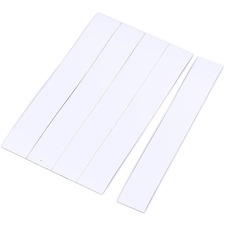 "BVC FM2518 Bi-silque 6"" Magnetic Dry Erase Strips BVCFM2518"