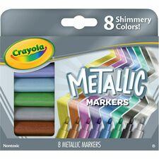 CYO 588628 Crayola 8-color Metallic Markers CYO588628