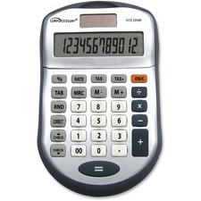CCS 22088 Compucessory 22088 12 Digit Desktop Calculator CCS22088