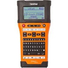 "Brother Industrial Handheld Wireless Labeller - Thermal Transfer - 30 mm/s Mono - 180 x 360 dpi - Label, Tape0.14"" (3.50 mm), 0.94"" (24 mm), 0.24"" (6 mm), 0.35"" (9 mm), 0.47"" (12 mm), 0.71"" (18 mm) - LCD Screen - Battery, Power Adapter - 6 Batteries Supported - AA - Alkaline - Battery Included - High Visibility Industrial Orange - Handheld - PC, Mac, Handheld - for Industry"
