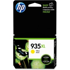 HP 935XL Original Ink Cartridge - Single Pack - Inkjet - High Yield - 825 Pages - Yellow - 1 Each