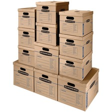 FEL 7716401 Fellowes SmoothMove S/M Classic Moving Box Kit FEL7716401