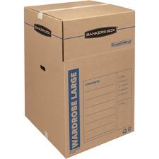 FEL 7711001 Fellowes Bankers Box SmoothMove Wardrobe Box FEL7711001