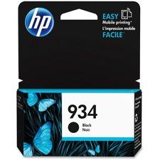 HP 934 Original Ink Cartridge - Single Pack - Inkjet - 400 Pages - Black - 1 Each