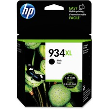 HP 934XL Original Ink Cartridge - Single Pack - Inkjet - High Yield - 1000 Pages - Black - 1 Each