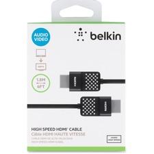BLK AV10090BT06 Belkin HDMI Cable BLKAV10090BT06