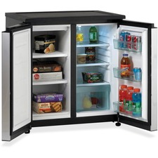Avanti Side-By-Side Refrigerator/Freezer