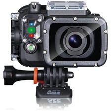 "AEE S71 Digital Camcorder - 2"" LCD - Exmor R CMOS - 4K - Black"