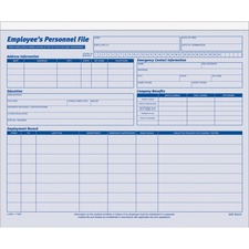 ABF9287ABF - Adams Employee Personnel File Folder