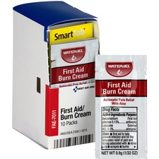 FAO FAE7011 First Aid Only First Aid Burn Cream Packets FAOFAE7011