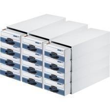 FEL 00306CT Fellowes Bankers Box Steel Plus Storage Drawers FEL00306CT