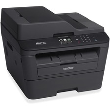 Brother MFC-L2740DW Laser Multifunction Printer - Monochrome - Plain Paper Print - Desktop - Copier/Fax/Printer/Scanner - 32 ppm Mono Print - 2400 x 600 dpi Print - Automatic Duplex Print - 32 cpm Mono Copy - 1 x Input Tray 250 Sheet, 1 x Automatic Docume