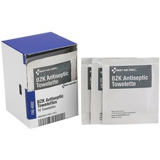 FAO FAE4002 First Aid Only BZK Antiseptic Towelettes FAOFAE4002
