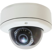 LevelOne H.264 3-Mega Pixel Vandal-Proof FCS-3055 PoE WDR IP Dome Network Camera (Day/Night/Indoor/Outdoor), TAA Compliant