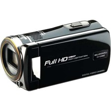 "Bell+Howell Digital Camcorder - 3"" - Touchscreen LCD - Full HD - Black"
