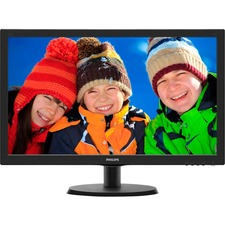 "Philips V-line 223V5LHSB 21.5"" LED LCD Monitor - 16:9 - 5 ms"