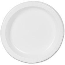 DXE DBP09W Dixie Foods Basic Paper Plates DXEDBP09W