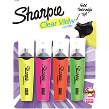 SAN 1912769 Sanford Sharpie Clear View Highlighters Set SAN1912769