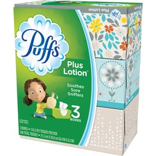 PGC 82086 Procter & Gamble Puffs Plus Lotion Facial Tissues PGC82086